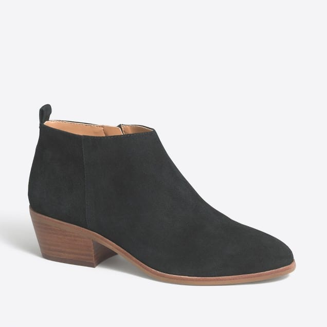 Super cute suede boots from J Crew!