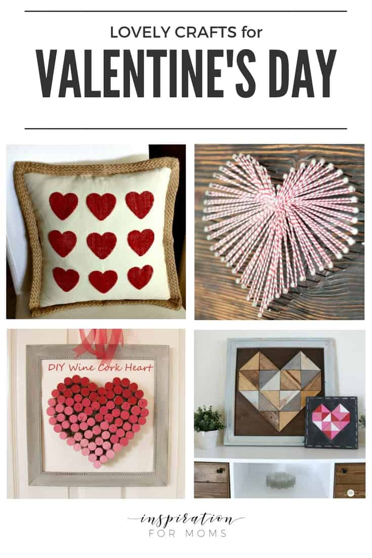 Celebrate the holiday of love with these easy Valentine's Day Crafts.