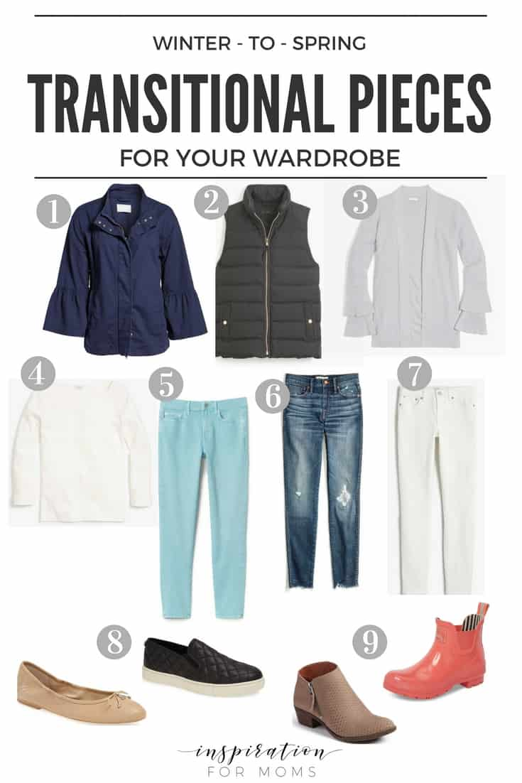 Let's Talk Winter to Spring Transitional Pieces