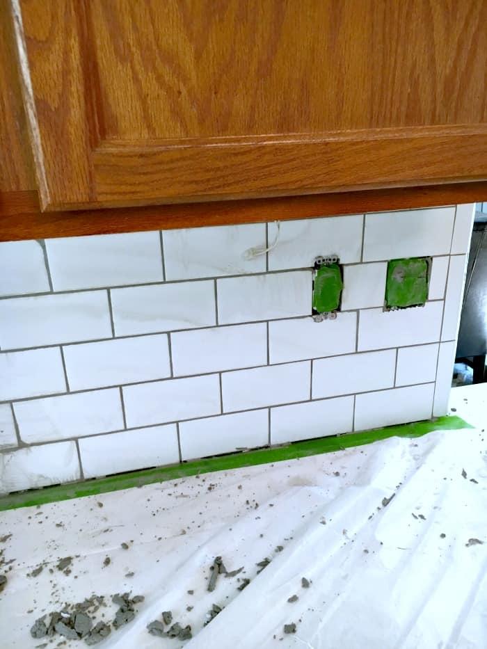 how to install subway kitchen tile backsplash tips tutorial