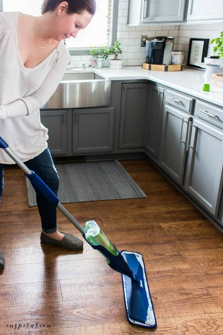 Remove harsh grim fast and learn how to keep clean floors with little to no effort!My two step solution is all you need to get clean floors fast!