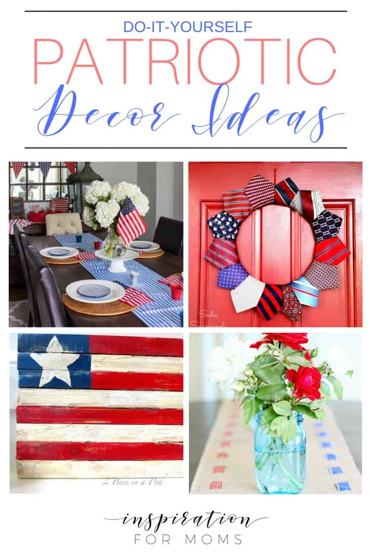 Time For Red, White & Blue – Patriotic Decor Ideas