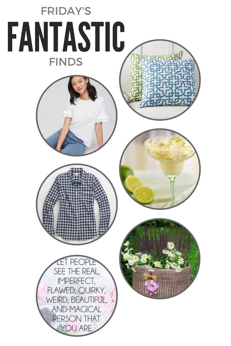 Happy Friday! Welcome to another Friday's Fantastic Finds -- here is a little roundup of what caught my eye this week!There's something for everyone!