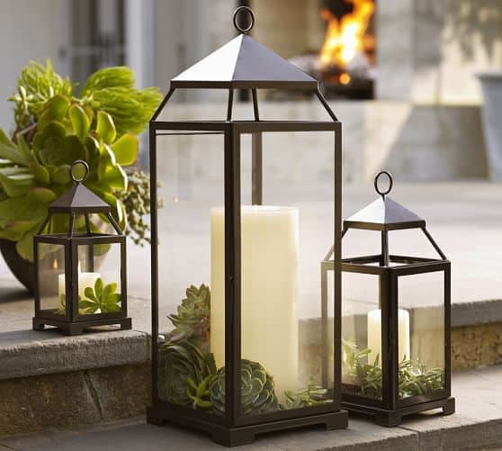 Malta Lanterns are great for the outdoors this Summer!