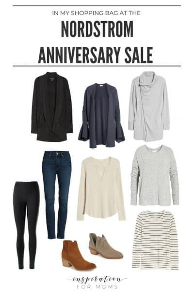 The Nordstrom Anniversary Sale is here and I'm showing you my favorite finds. I have cardigans, jeans, tees, booties and more!
