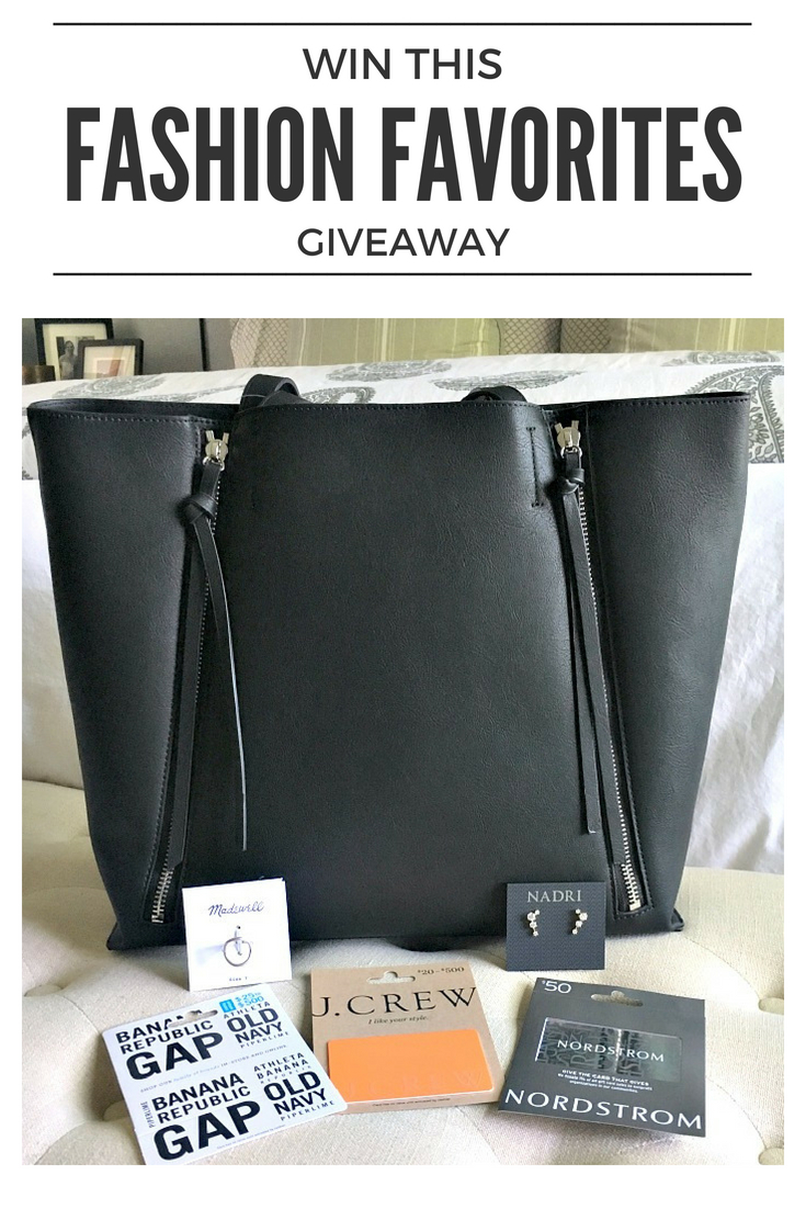 August Giveaway – My Fashion Favorites
