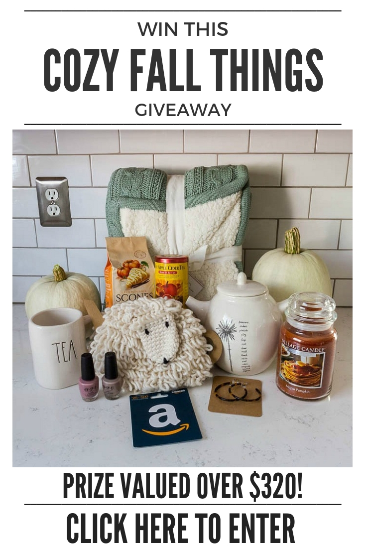 September Giveaway — Cozy Fall Things