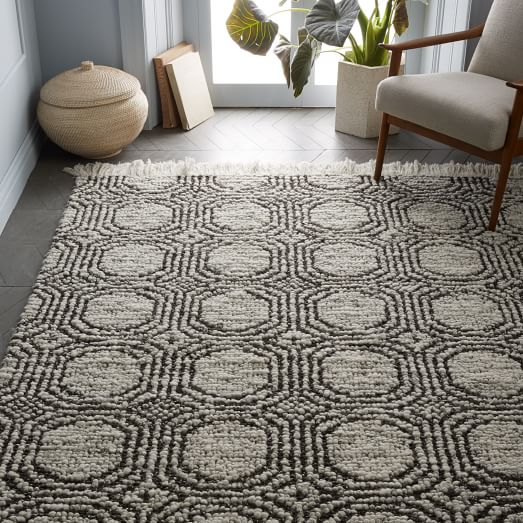This concentric circle rug is perfect for any room in the house!