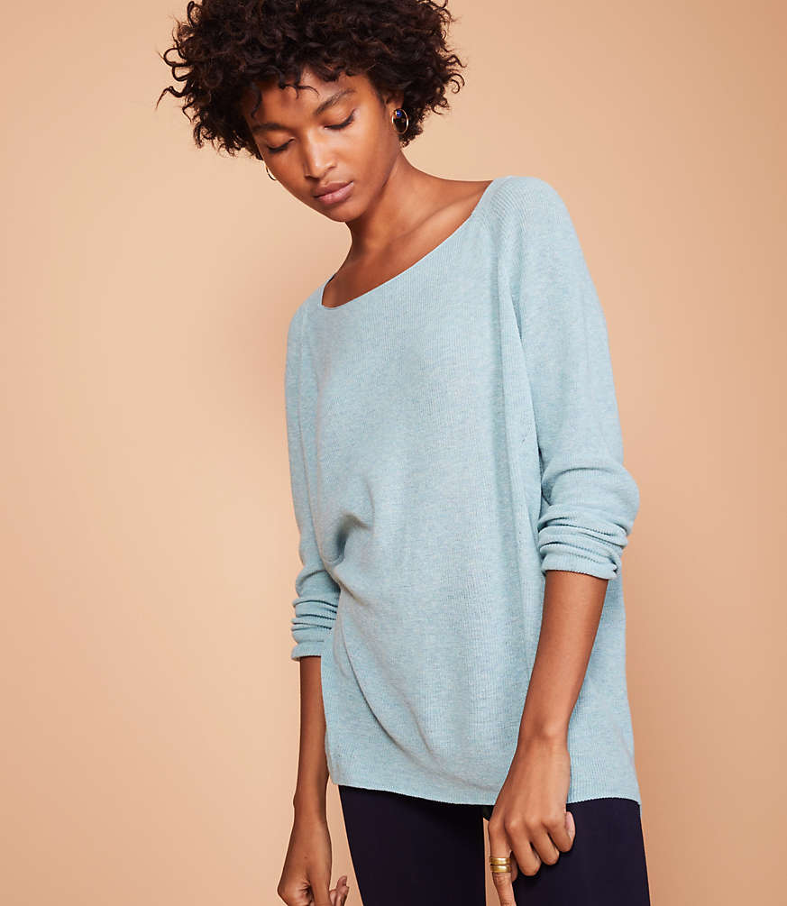 sweater tunic -- perfect for fall with leggings!