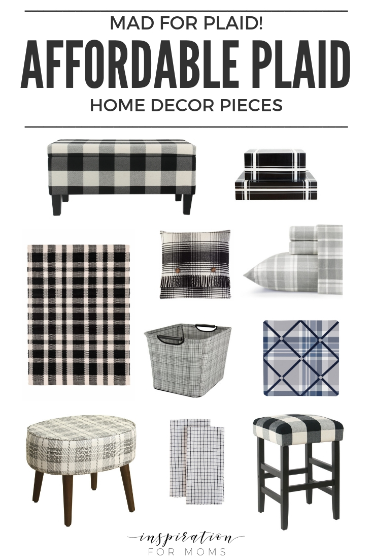 Mad for Plaid! 25 Affordable Decor Pieces You'll Love