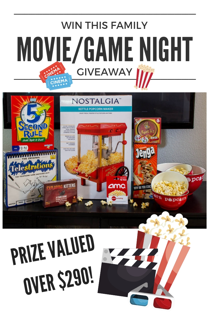 October Giveaway – Family Movie/Game Night