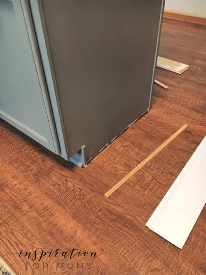 how to add molding to cabinets - molding