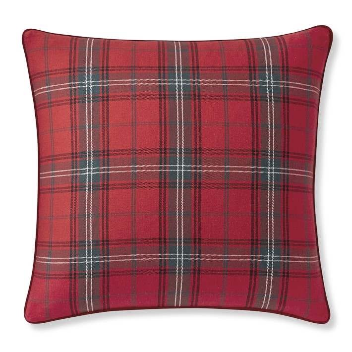 classic tartan pillow - perfect for holiday decor