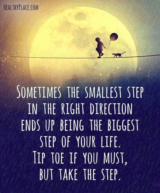 the biggest step of your life