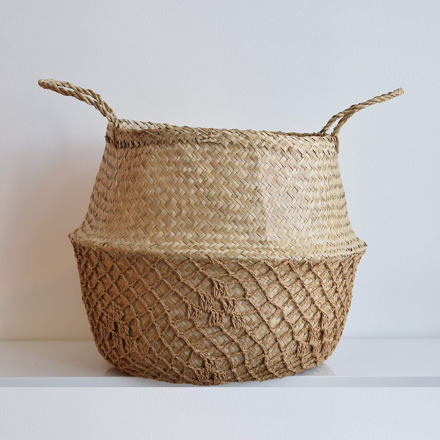 woven tote basket - great for the home!