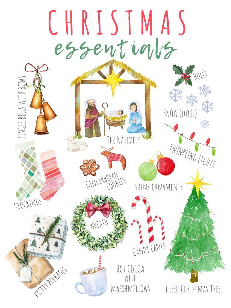 Christmas Essentials Printable
