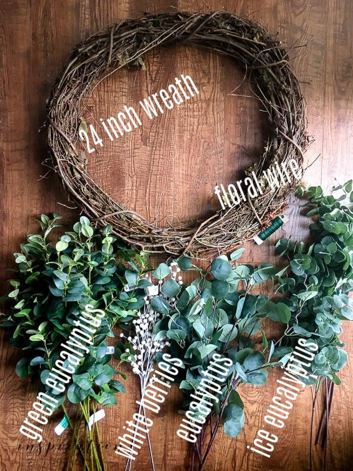 How To Easily Make A DIY Eucalyptus Wreath You'll Love