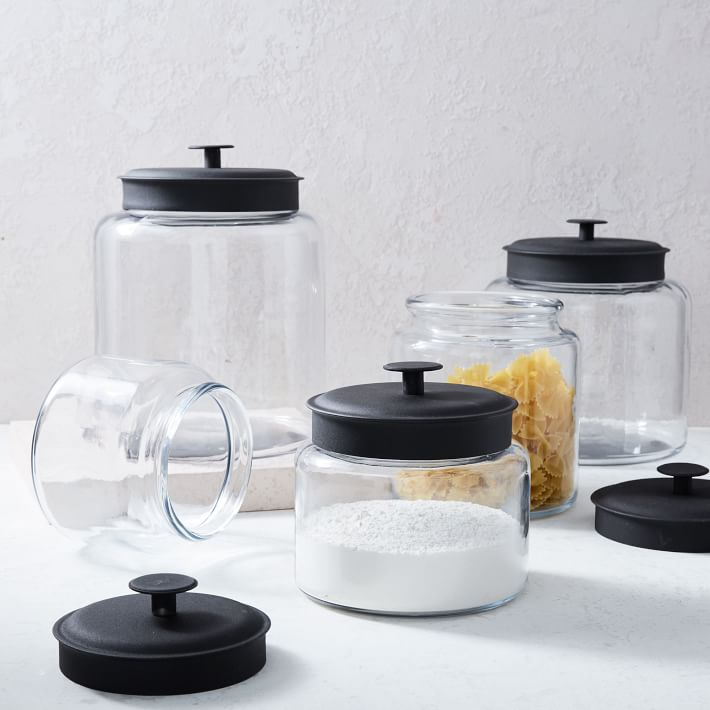 Love these kitchen storage canisters!