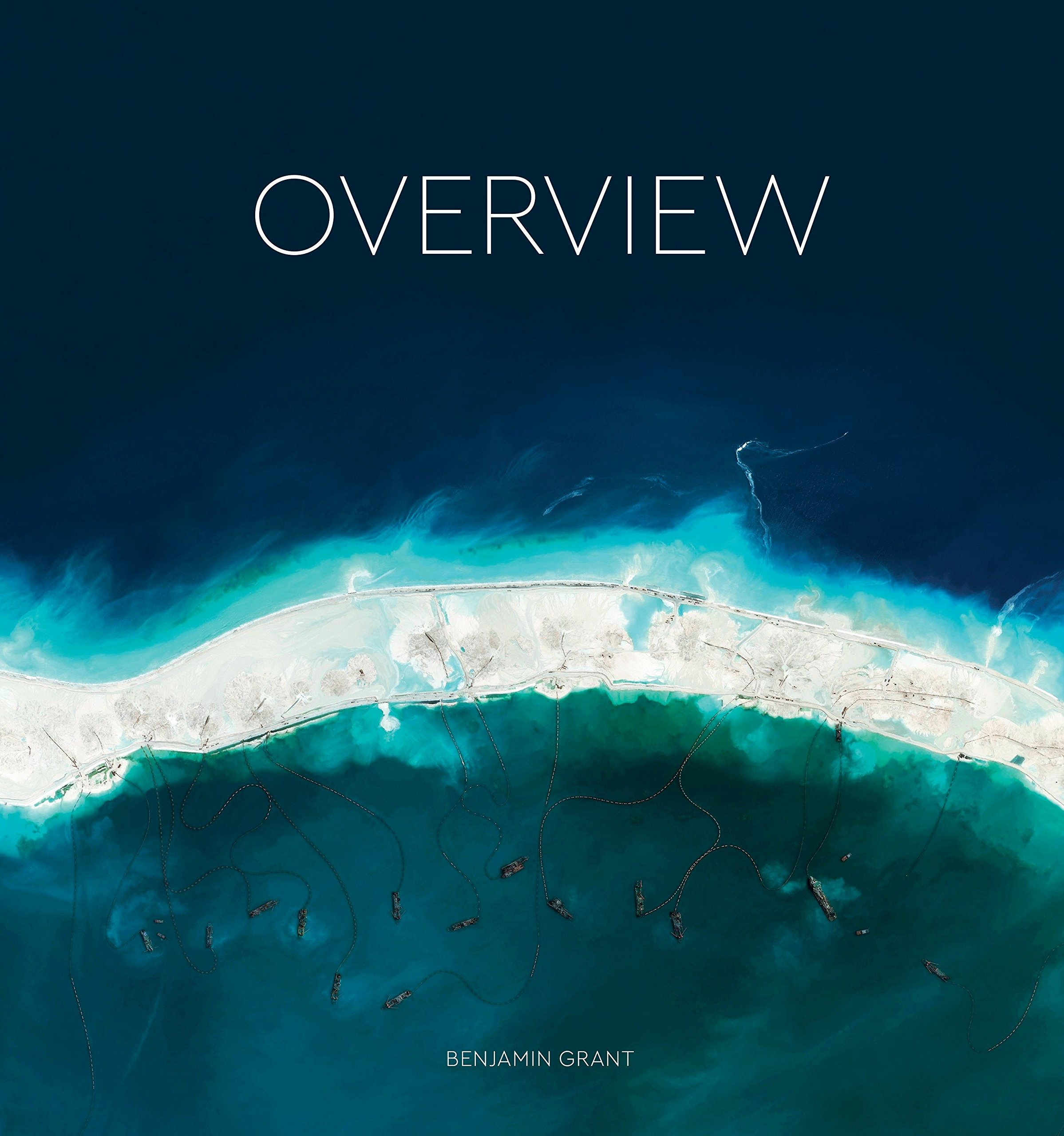 Get a new perspective on life with this gorgeous coffee book -- Overview.