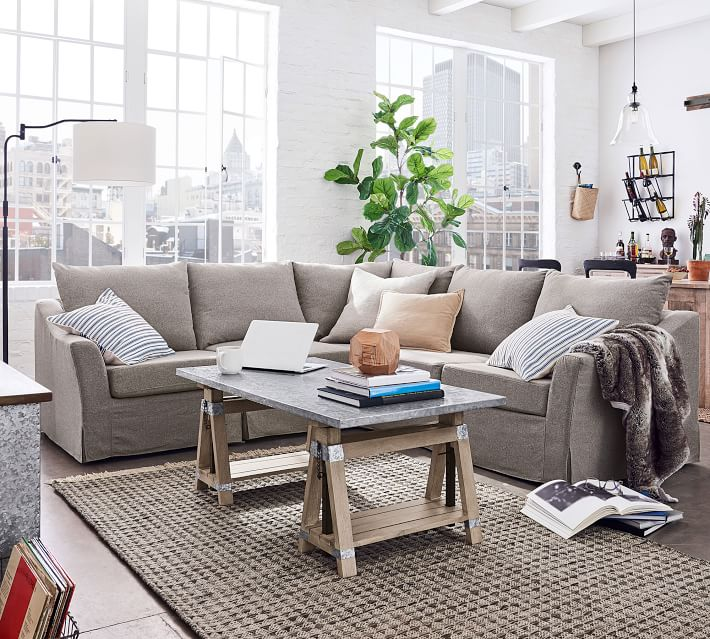 SoMa Brady sectional - great for family guests!
