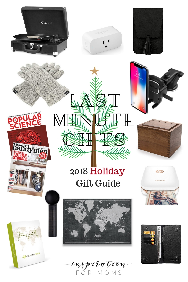 Last Minute Gift Ideas: Gifts for Husbands and In-Laws