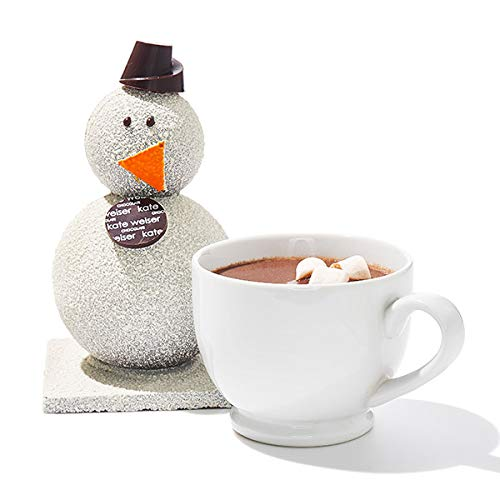Chocolate Carl - the Chocolate Drinking Snowman -- great gift!