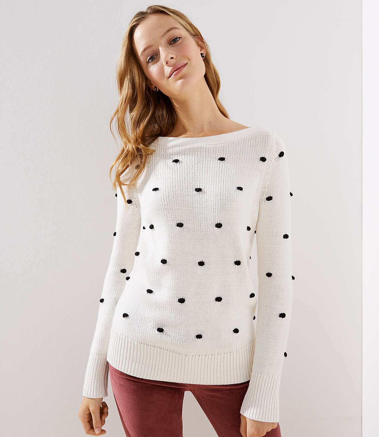 Bobble Stitch Sweater - so cute for the winter months!