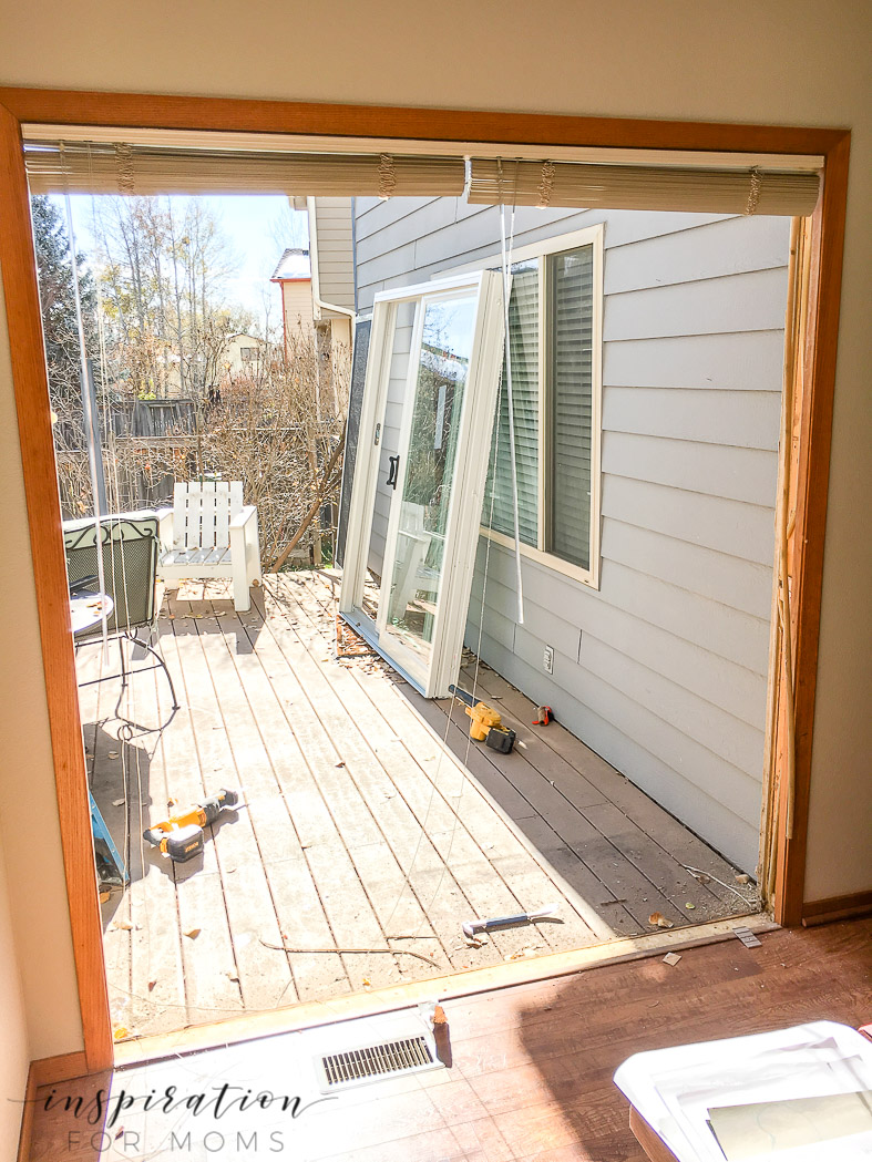 Discover why our home desperately needed new patio doors and the three amazing benefits of updating a patio door in your home.