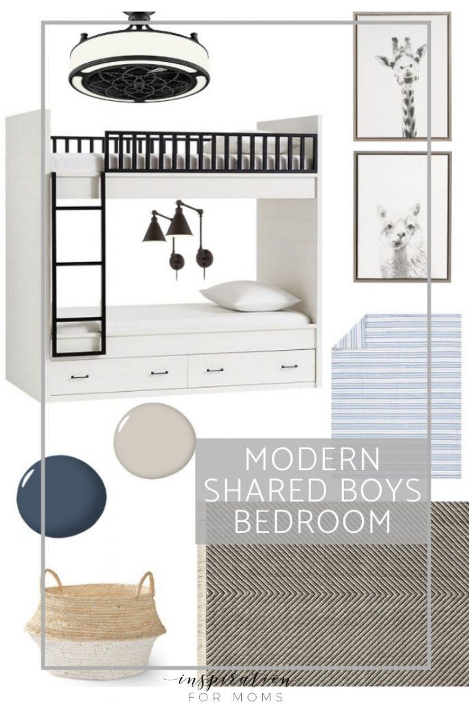 Knowing how to decorate a small shared bedroom can sometimes be challenging. But with a few furniture changes and the power of paint, it can be easily done!