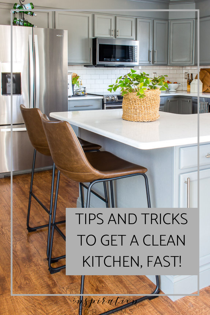 What You Need To Get A Clean Kitchen Fast