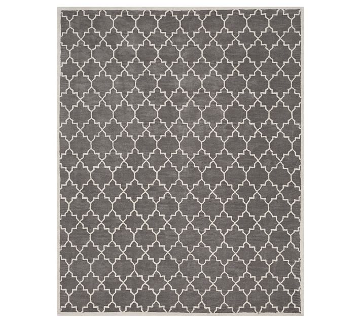 Jali Geo Tufted Rug -- so pretty and on sale for a fantastic price!