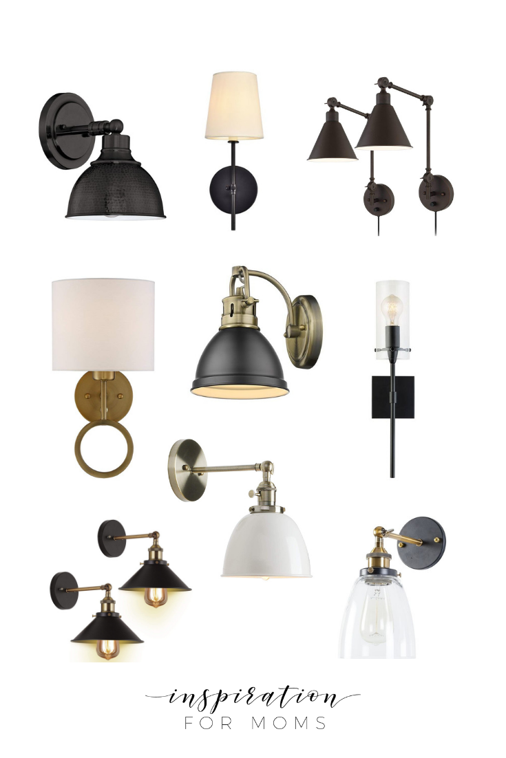 Adding gorgeous lighting to your home shouldn't be expensive. Here's nine affordable wall sconces that'll light up your life without emptying your wallet!