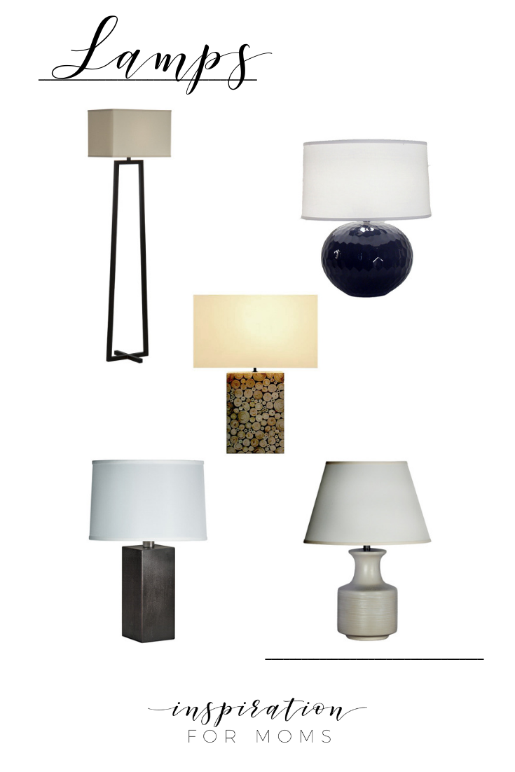 Learn how to make your house a home with five comfortable home design tips you can easily do! lamps