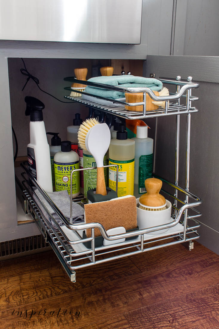 The Best Tips On How To Organize Under The Kitchen Sink Inspiration For Moms