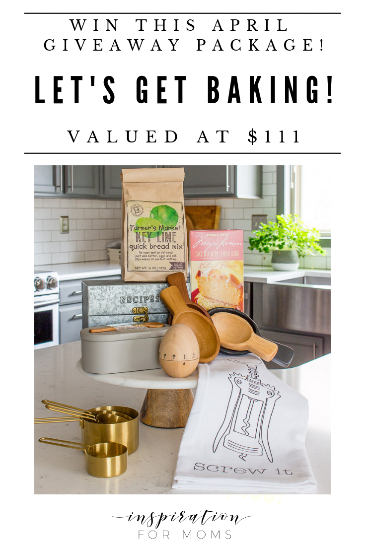 Win this fabulous Let's Get Baking giveaway and get all the help you need to bake your favorite treats!
