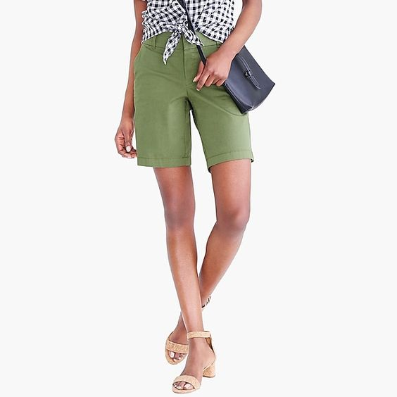 Frankie Shorts -- great shorts for spring into the summer! Love the longer length!