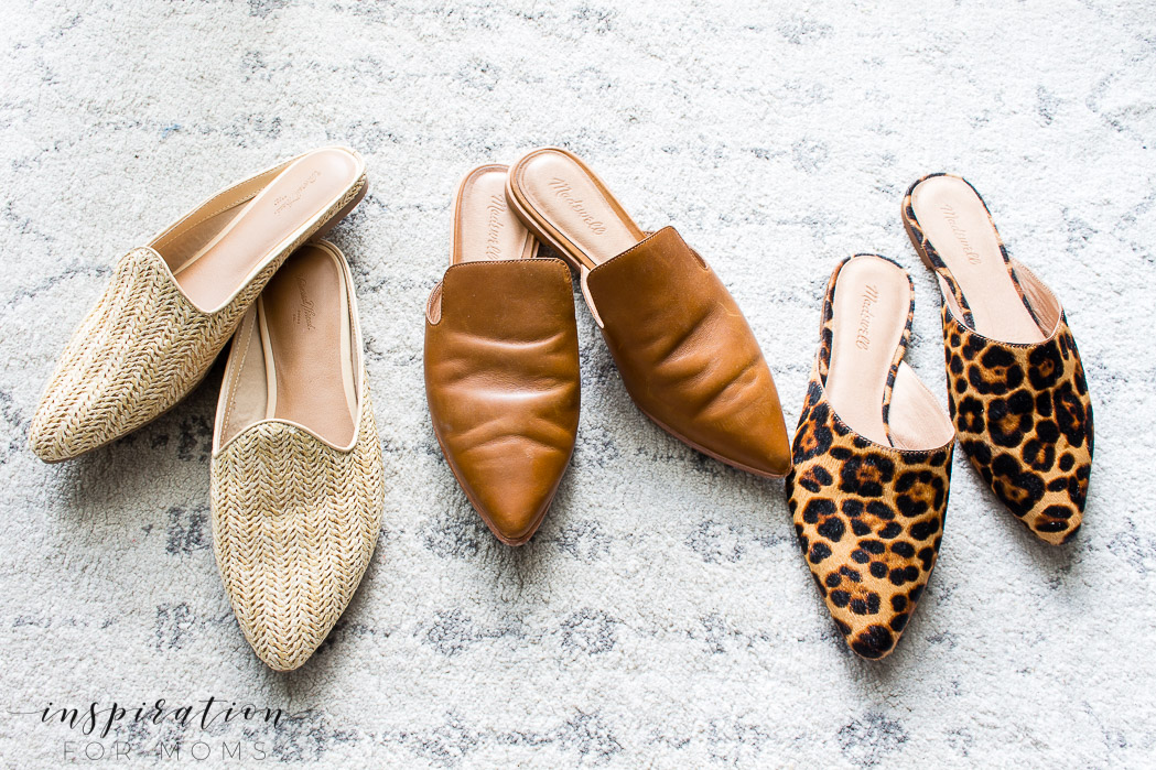 mule sandals - for spring into summer sandals