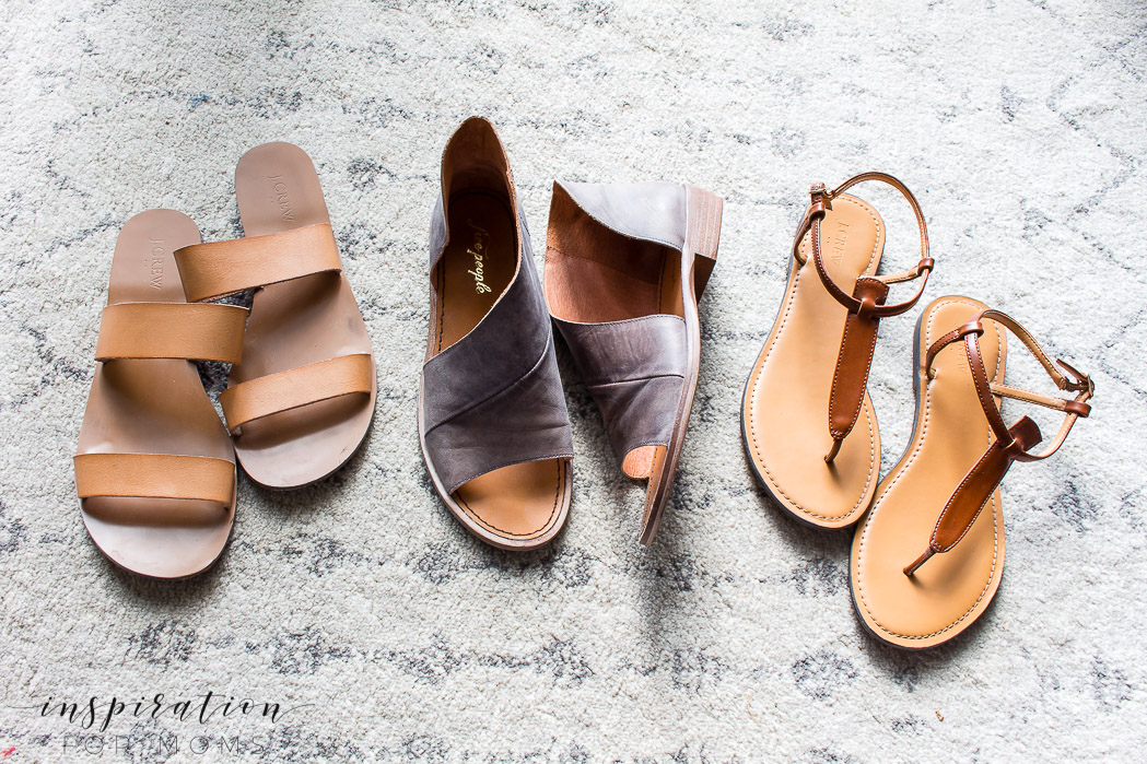 flat sandals - for spring into summer sandals