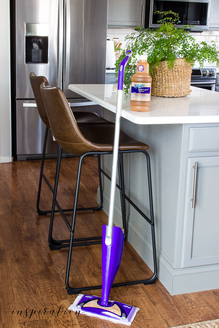 How to clean hardwood floors. Learn my easy three-step process!