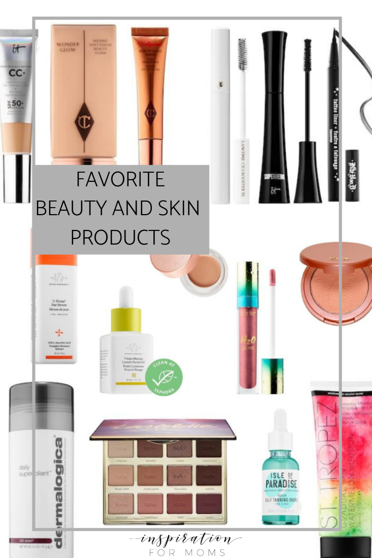 Let's Talk Favorite Beauty and Skin Products