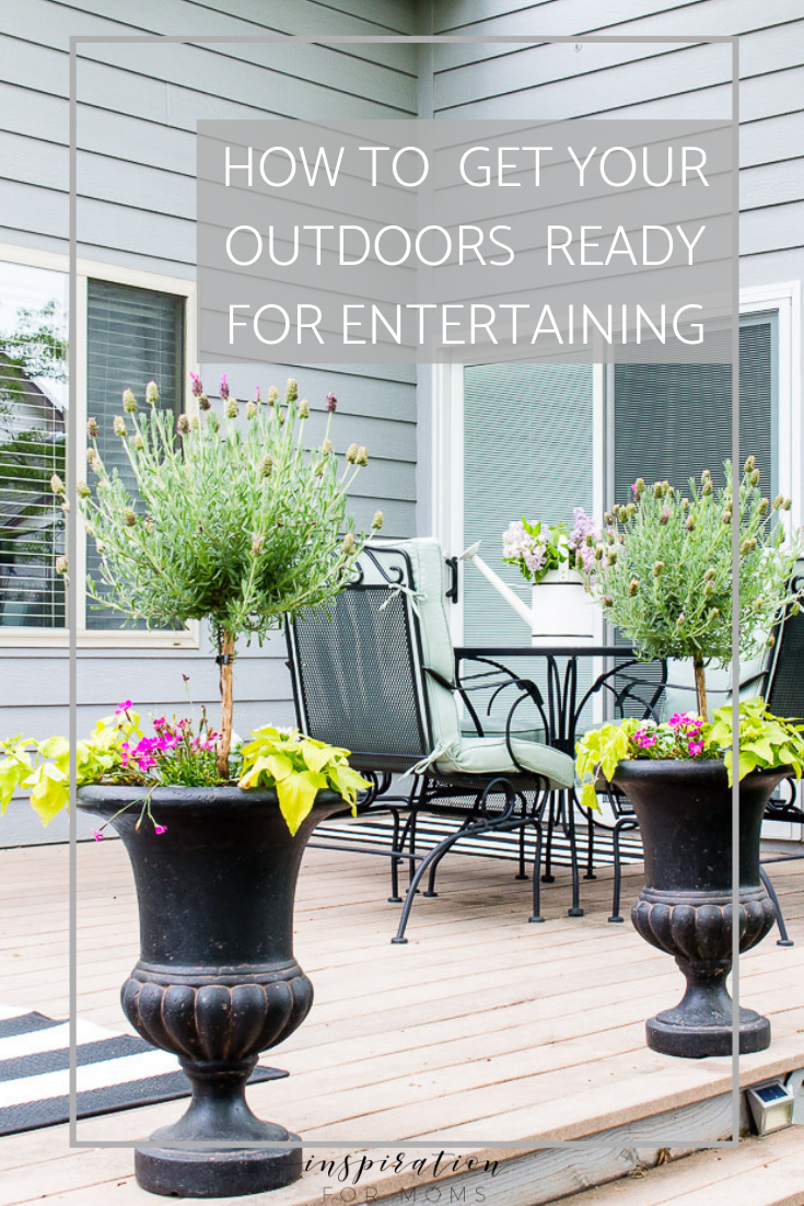 Warmer weather is here and the patio needs a big spring cleaning. Here's my step by step process with the best patio cleaner for getting the job done right!