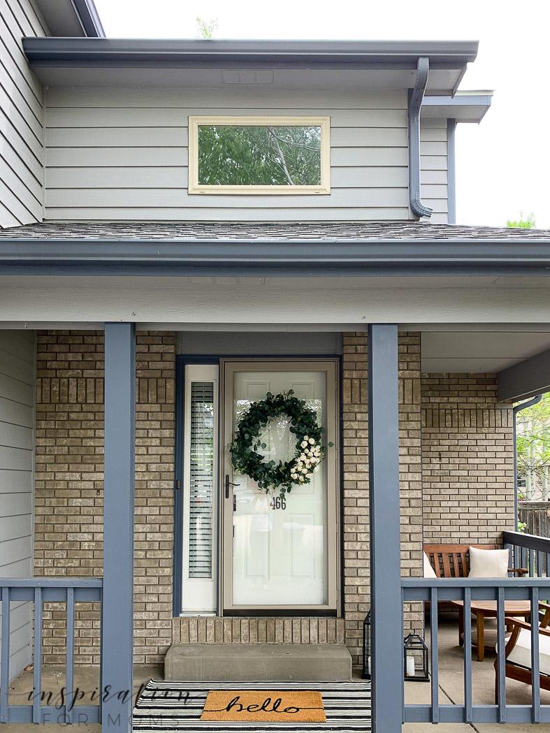 front of house front door