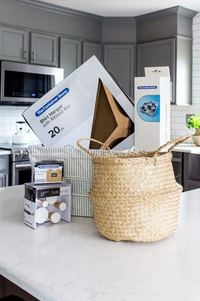 Win this fabulous giveaway and get all the things organized and contained -- thanks to The Container Store!