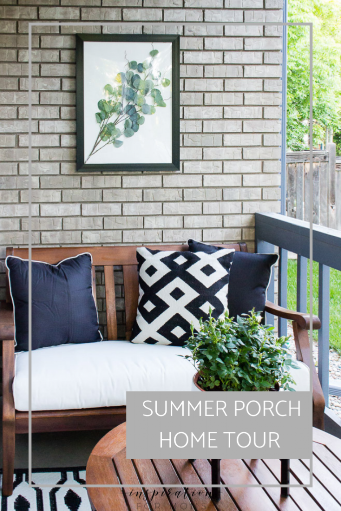 summer porch home tour #summerhometour