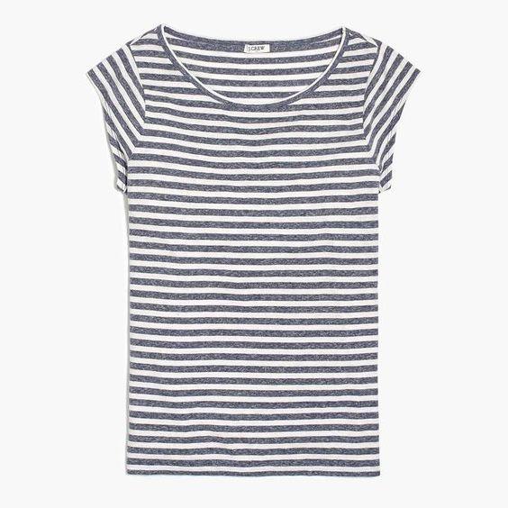 striped ballet t-shirt, so cute for summer