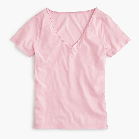classic v-neck t-shirt -- perfect for summer and comes in seven different colors