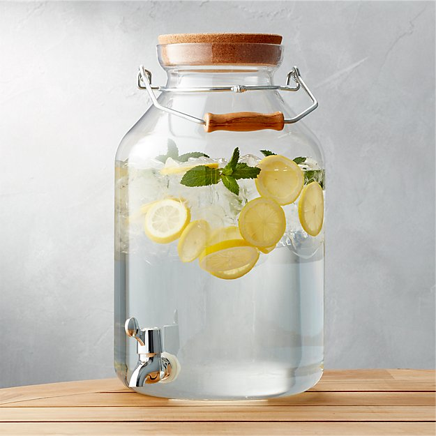 acrylic drink dispenser - perfect for summer outdoor gatherings