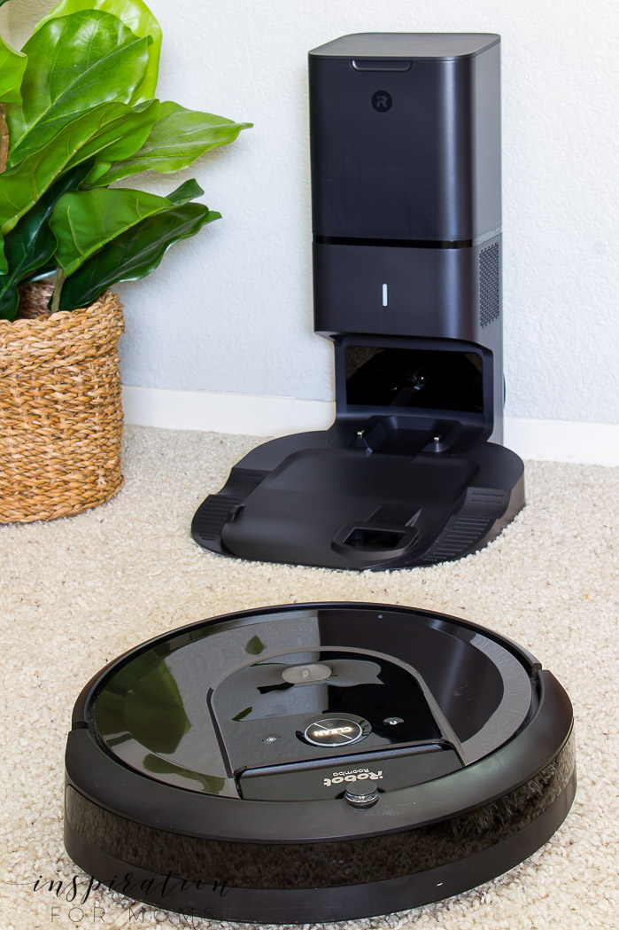 The best house cleaning robot - iRobot Roomba i7+ with clean base automatic dirt disposal