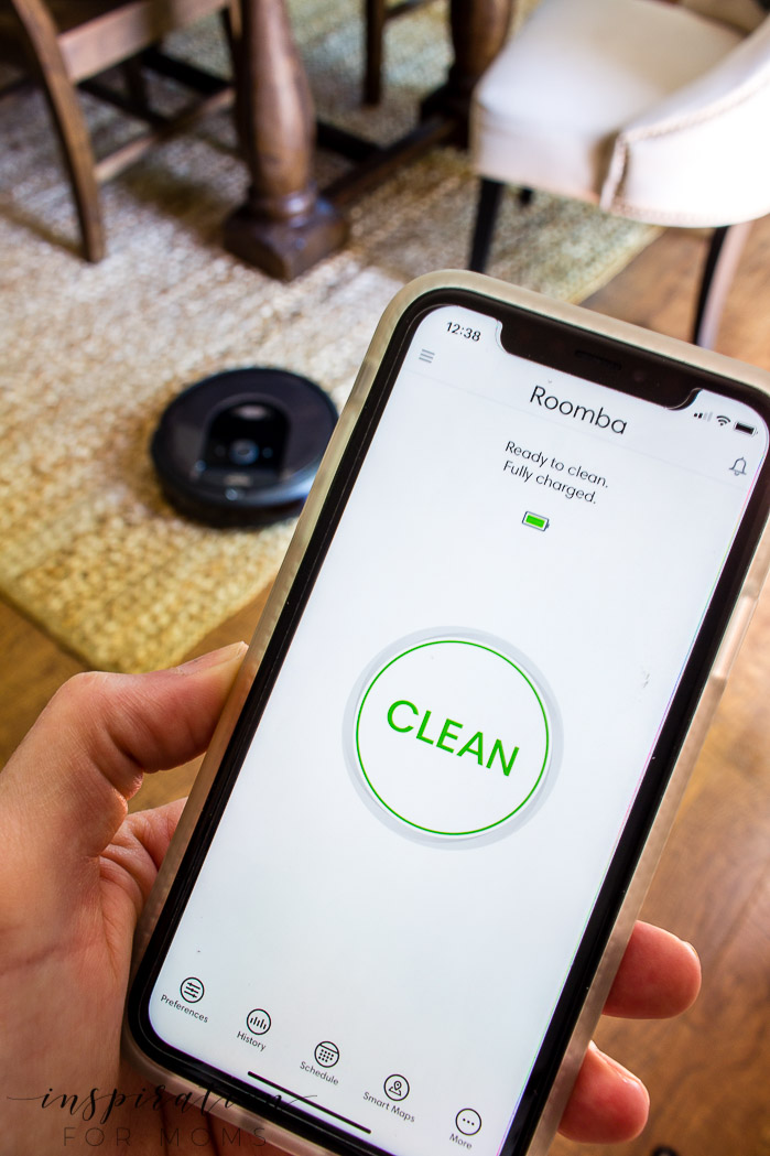 The best house cleaning robot - iRobot Roomba i7+ iRobot HOME app