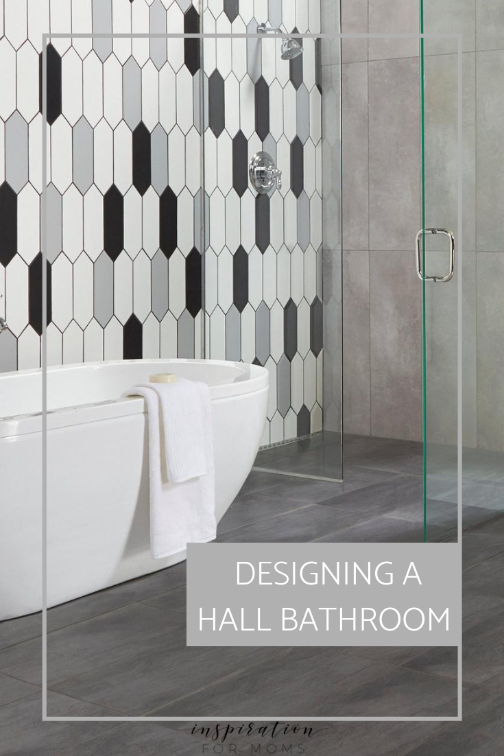 Designing Our Hall Bathroom Remodel with Floor & Decor